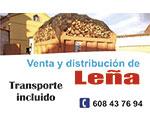 Venta y distribuión de Leña - Patrocinador Escalona Running 2017
